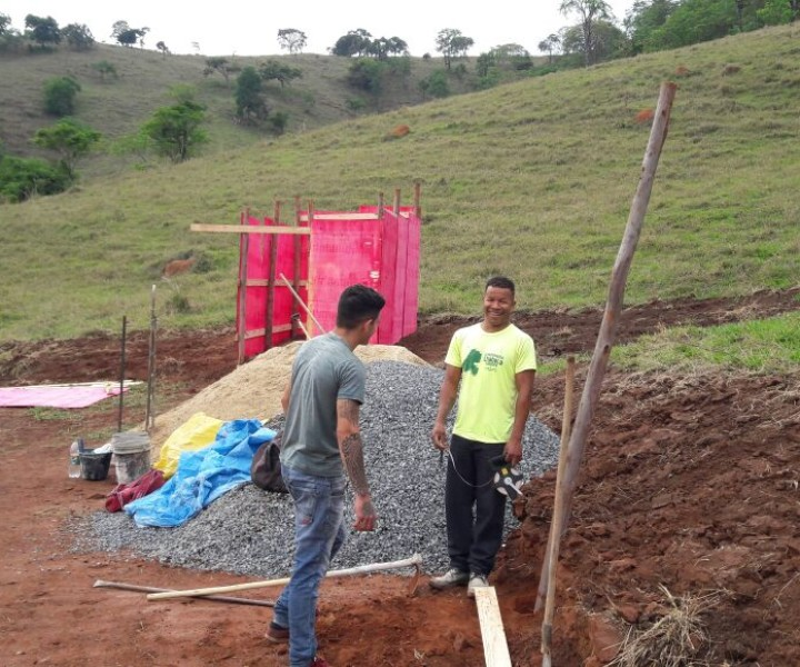 Construção da Oficina em Andamento!